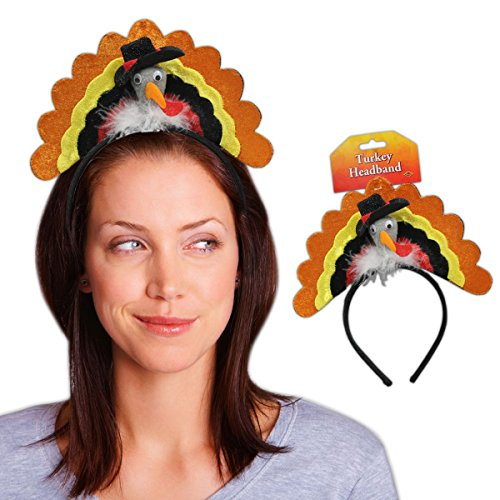Turkey Headband Party Accessory