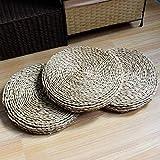 HUAWELL 2 Piece Japanese Traditional Tatami Round