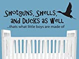 Shotguns Shells Ducks as well thats what little boys are made of-Ducks Wall Decal-Boy and Baby Nursery Decal, Hunting decal, Kids Room Decal