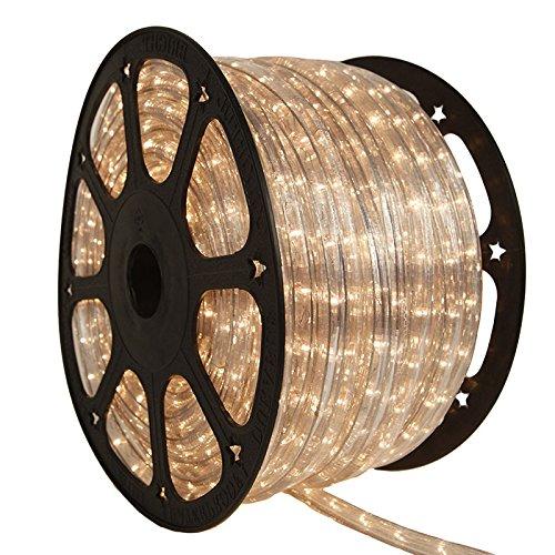 150ft 3-Wire Incandescent Chasing Rope Light Kit - 120V (Clear) Chasing Rope Light 3 Wire