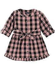فستان للطفلات الصغيرات من كالفن كلاين