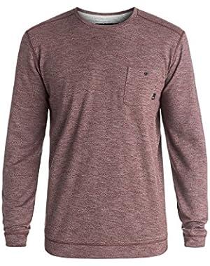 Men's Lindow Lightweight Sweater and HDO Travel Sunscreen (15 SPF) Spray Bundle