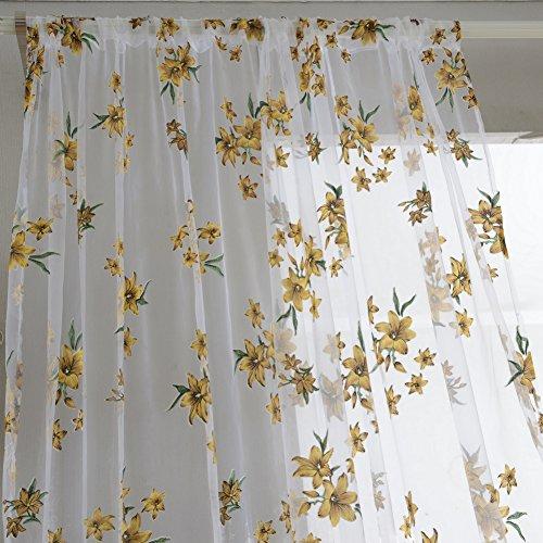 Edal 1xSheer Curtain Window Curtains