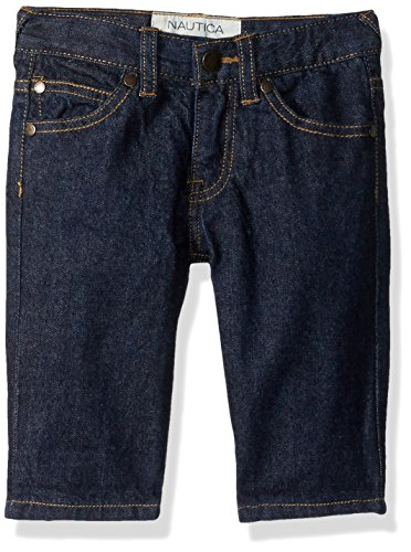 - Nautica Boys' Little 5-Pocket Short, Asher Denim Rinse, 4