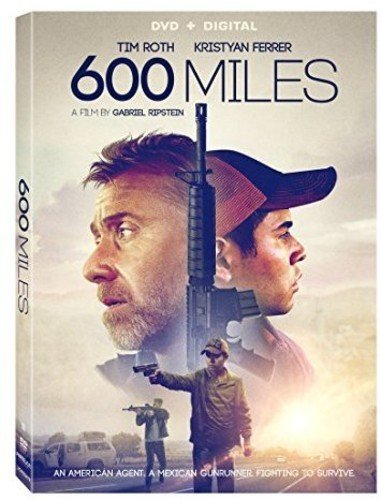 DVD : 600 Miles (AC-3, Dolby, Subtitled, Widescreen)