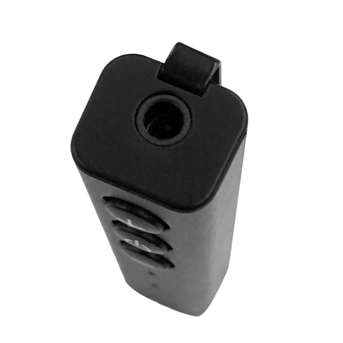 ZF-350 Stiftclip Multifunktions-Bluetooth 4.0-Audioempf/änger 3,5-mm-Aux-Eingang Micro-USB-Anschluss Drahtloser Adapter mit Mikrofon Rone Leben