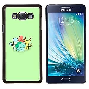 EJOOY---Cubierta de la caja de protección para la piel dura ** Samsung Galaxy A7 A7000 ** --Familia P0kemon