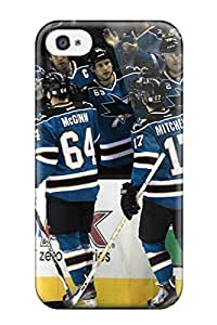Muriel Alaa New Style san jose sharks hockey nhl (4) NHL Sports & Colleges fashionable For Apple Iphone 4/4S Case Cover