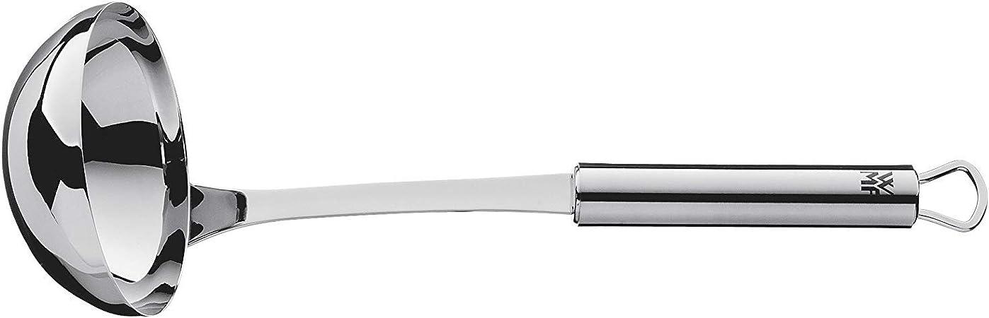 27 cm Cromargan Edelstahl sp/ülmaschinengeeignet teilmattiert WMF Profi Plus Saucen-// Sch/öpfl/öffel