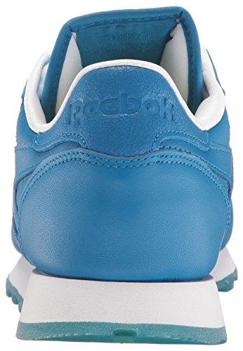 Reebok Womens Cl Lthr Face Fashion Sneaker Drammatico / Chiarezza / Meraviglia