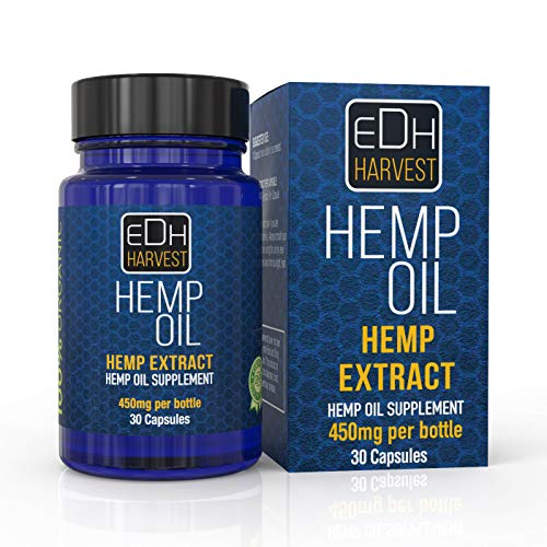 Everyday Hemp Oil for Pain, Anxiety & Stress Relief - 30 Caps - 300mg, 100% Organic Hemp Extract Drops - Natural Anti-Inflammatory, Joint Support Helps with Better Sleep & Mood - Grown and Made In USA -