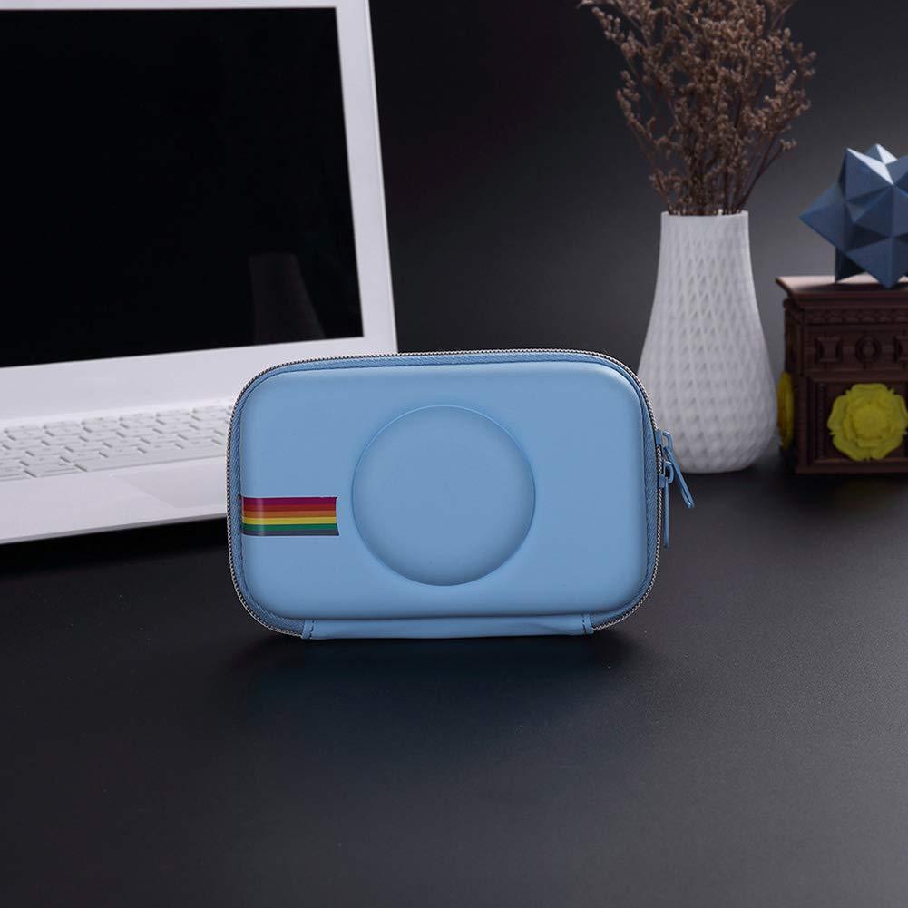 Azul Funda para c/ámara Polaroid Snap Touch WSDF Funda Protectora de EVA port/átil a Prueba de Golpes Tama/ño Libre
