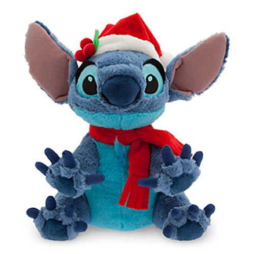 Disney Santa Stitch Plush - Medium - 12'' (Stitch Santa)
