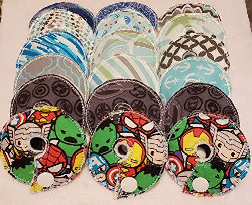Adorable Pads G/J Tube Pad 18 Pack (RTS) 27 set of 18 feeding tube pads gtube