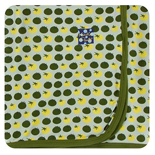 KicKee Pants Little Boys Print Swaddling Blanket - Aloe Tomatoes, One Size