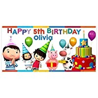 Little Baby Bum Birthday Banner Party Decoration Backdrop