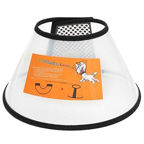 TOOGOO(R) Pet Dog Protective Elizabethan Collar Medical Cone Bite - Proof Protector, #1