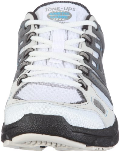 Skechers Men's 51510 NVGY Fitness Shoes White Size: 8.5 UK