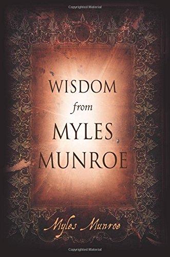 Download Wisdom from Myles Munroe pdf epub