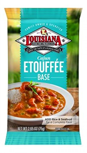 Louisiana Fish Fry Cajun Etouffee Base 2.65oz (Pack of 12) by Louisiana Fish Fry