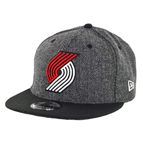- New Era 950 Portland Trailblazers Pattern Pop Snapback Hat (HG/BK) NBA Cap