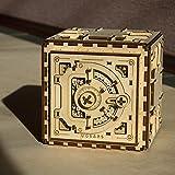 UGears Mechanical Models 3-D Wooden Puzzle - Mechanical Safe