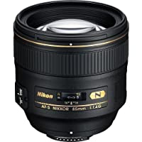Nikon AF-S FX NIKKOR 85mm f/1.4G Lens with Auto Focus for Nikon DSLR Cameras International Version (No warranty)