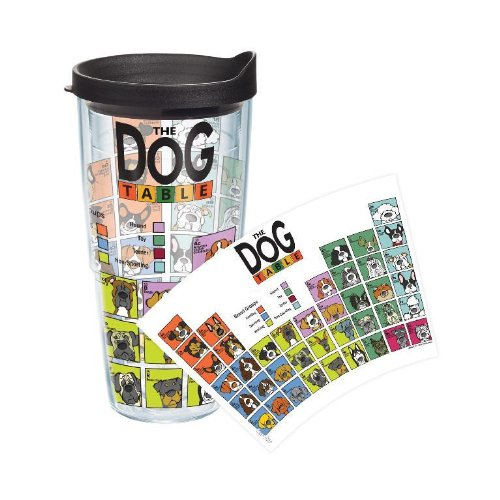 Tervis Periodic Table Of Dog Breeds 24oz - Pets Life-Time Guarantee DOG-I-24-PTAB-WRA