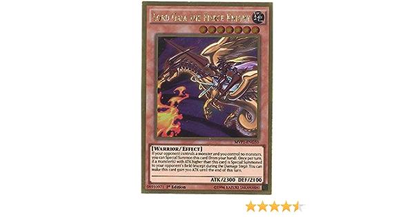 1st Edition MVP1-EN050 Ultra Rare 3x Lord Gaia the Fierce Knight