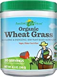 Amazing Grass Organic Wheat Grass, 30 Servings, 8.5 Ounces