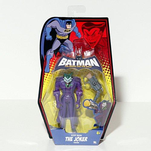 DC Batman Brave and the Bold Action Figure The Joker (Pop Gun)