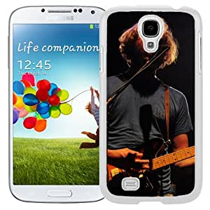 Beautiful Designed Cover Case With Bon Iver Scene Guitar Microphone Concert (2) For Samsung Galaxy S4 I9500 i337 M919 i545 r970 l720 Phone Case