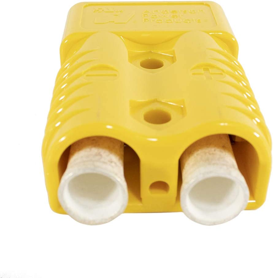 10x Anderson Connector 1//0 AWG Gauge Yellow Power Ground Quick Disconnect SB175