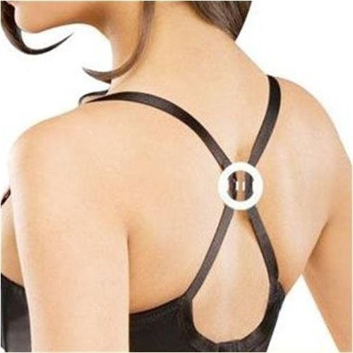 Racerback Bra Strap Clips Conceal Straps Create Cleavage Control Add Full Cup Size, Conceal Straps, Comfortable, Durable, 9 Pack