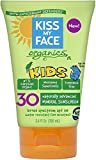 Kiss My Face Kids Mineral Sunscreen SPF 30, Fragrance Free 3.4 oz (Pack of 10)