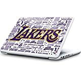 Skinit NBA Los Angeles Lakers MacBook 13-inch Skin - LA Lakers Historic Blast Design - Ultra Thin, Lightweight Vinyl Decal Protection