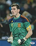 Iker Casillas Signed Photo - 8x10 Coa Espana World Cup - PSA/DNA Certified - Autographed Soccer Photos