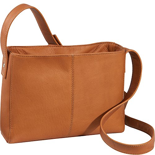 Zip Le Top Tan Crossbody Leather Bag Donne p8qWqczwg