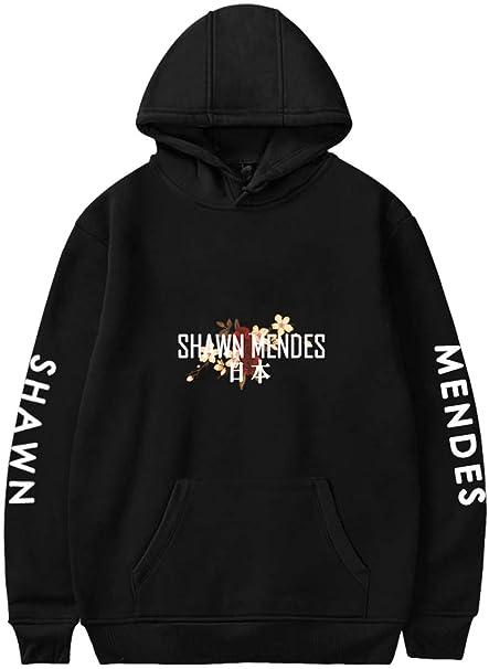 EMILYLE Mujer Shawn Mendes Cantante Sudadera con Capucha Sakura Flor: Amazon.es: Ropa y accesorios