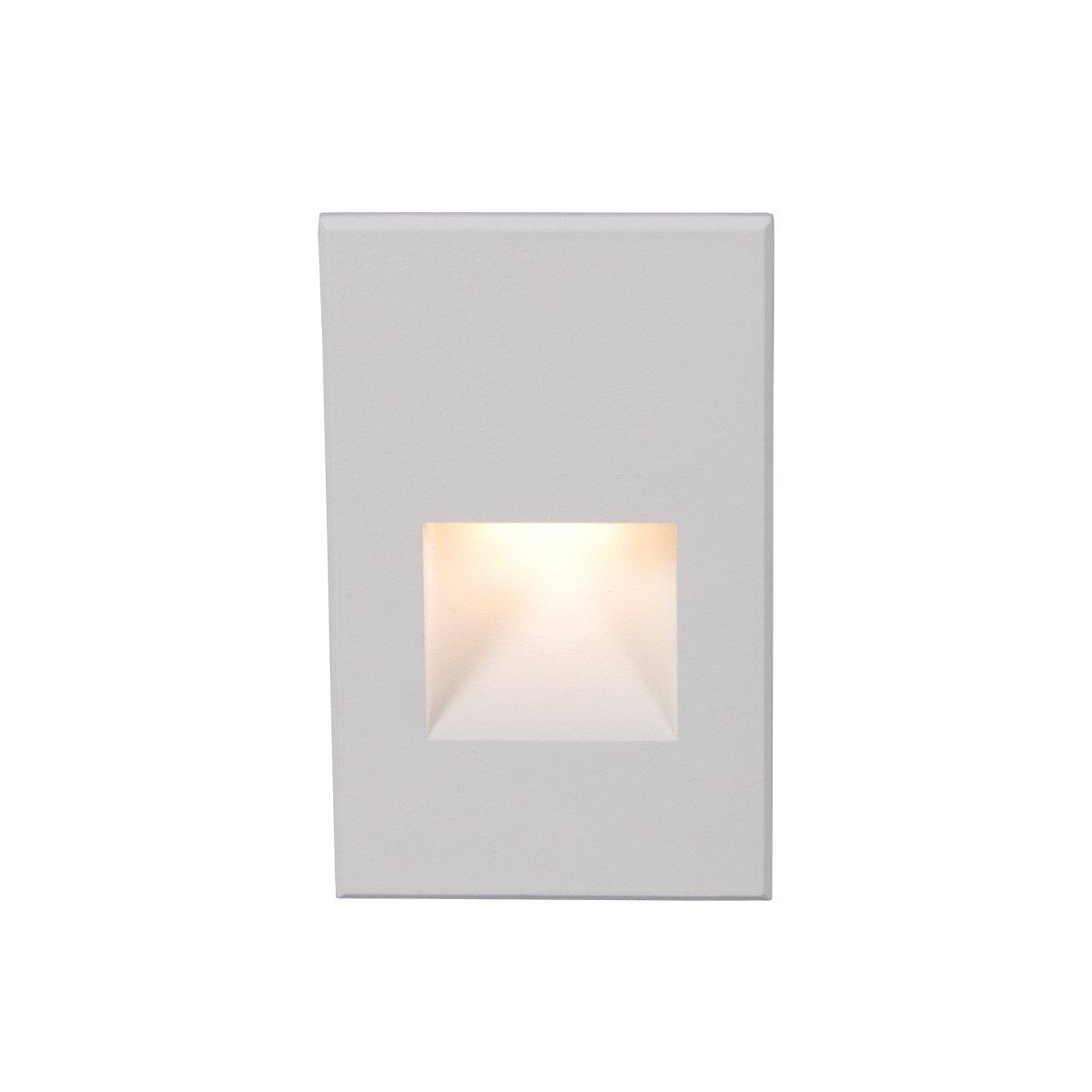 WAC Lighting WL-LED200F-C-WT 277V Vertical Step Light, White, 3000K