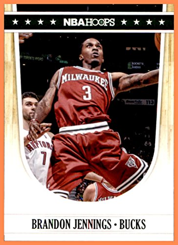 2011-12 Hoops #128 Brandon Jennings MILWAUKEE BUCKS