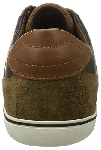 Box Geox Brown Browncotto Herren Sneaker Braun D U qSHSE