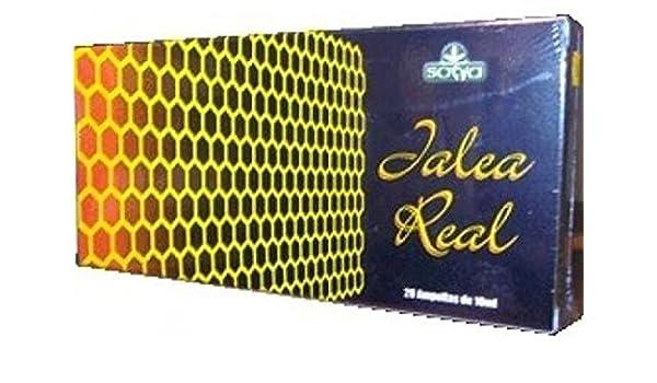 Jalea Real con Vitaminas 1000 mg /20 ampollas de Sotya: Amazon.es: Salud y cuidado personal