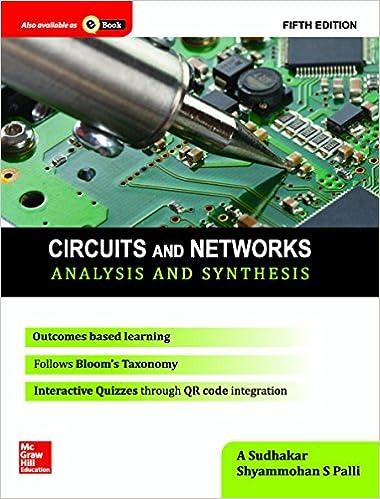 electrical circuit analysis sudhakar and shyam mohan