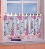 Gardinenbox Prinzessinen Scheibengardine, 50x130, Rosa, 61174