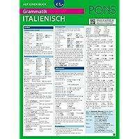 PONS Grammatik auf einen Blick Italienisch