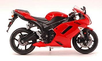Kawasaki Ninja ZX 6 R Red 1: 12 - Moto - Maisto - Die Cast ...