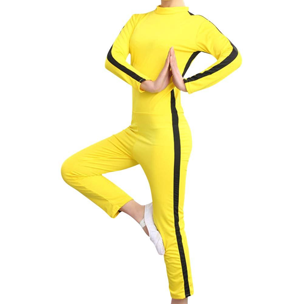 Giallo Kung Fu Cinese Tuta Lotta Film Film Outfit Fuyingda Abbigliamento Sportivo Unisex Adulto Bambini Arti Marziali Tute Cosplay