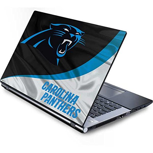 Skinit Carolina Panthers Generic 15in Laptop (13.7in X 9.5in) Skin - Officially Licensed NFL Laptop Decal - Ultra Thin, Lightweight Vinyl Decal Protection