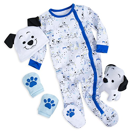 Disney 101 Dalmatians Gift Set for Baby - Blue Size 0-3 MO Multi